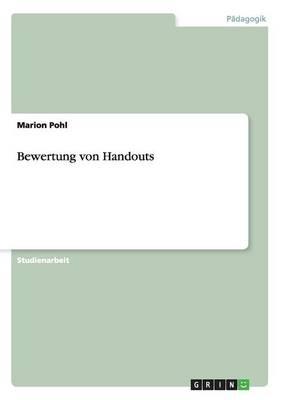 Bewertung Von Handouts (Paperback)