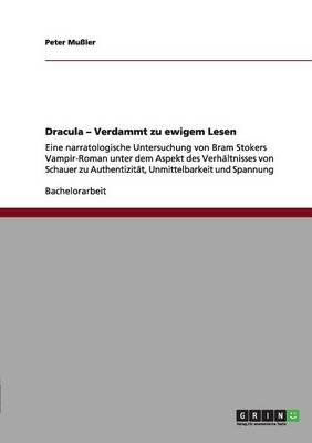 Dracula - Verdammt Zu Ewigem Lesen (Paperback)