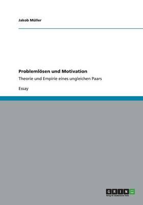 Probleml sen Und Motivation (Paperback)