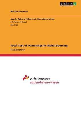 Total Cost of Ownership Im Global Sourcing (Paperback)