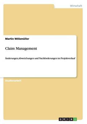 Claim Management (Paperback)