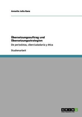 bersetzungsauftrag Und bersetzungsstrategien (Paperback)