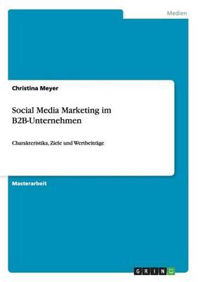 Social Media Marketing Im B2B-Unternehmen (Paperback)