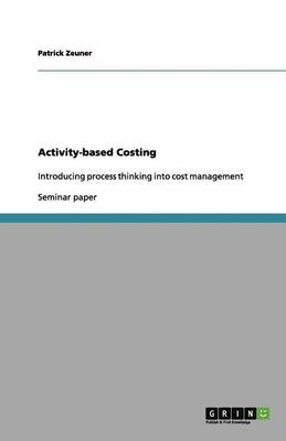 Activity-Based Costing (Paperback)