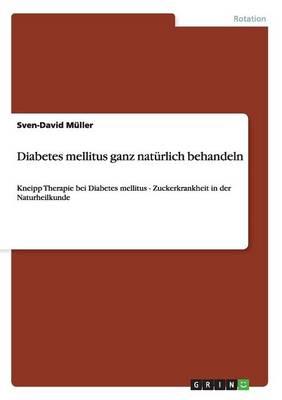 Diabetes Mellitus Ganz Nat rlich Behandeln (Paperback)