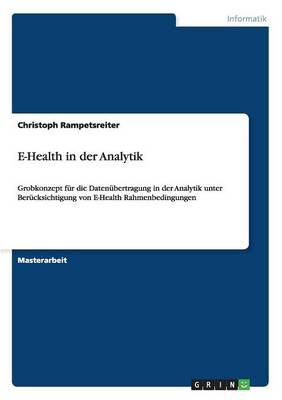 E-Health in Der Analytik (Paperback)