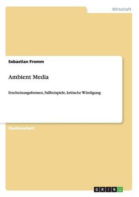 Ambient Media (Paperback)