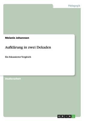 Aufklarung in Zwei Dekaden (Paperback)