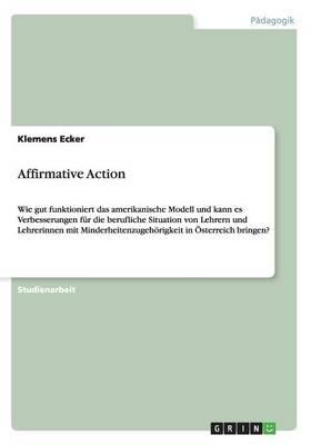 Affirmative Action (Paperback)