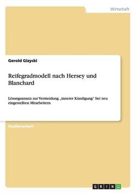 Reifegradmodell Nach Hersey Und Blanchard (Paperback)