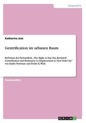 Gentrification Im Urbanen Raum (Paperback)