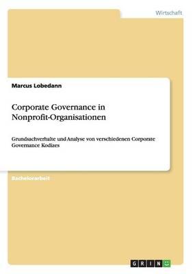 Corporate Governance in Nonprofit-Organisationen (Paperback)