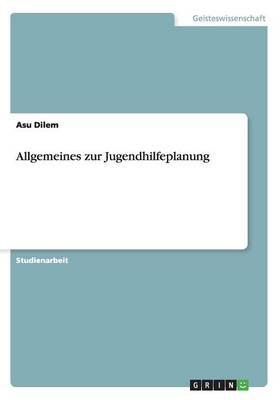Allgemeines Zur Jugendhilfeplanung (Paperback)