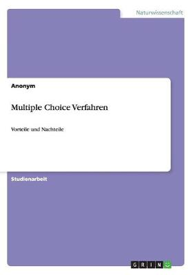 Multiple Choice Verfahren (Paperback)