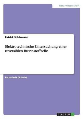 Elektrotechnische Untersuchung Einer Reversiblen Brennstoffzelle (Paperback)