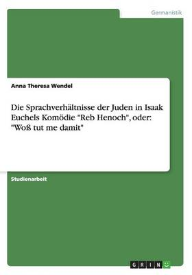 Die Sprachverh ltnisse Der Juden in Isaak Euchels Kom die Reb Henoch, Oder: Wo  Tut Me Damit (Paperback)