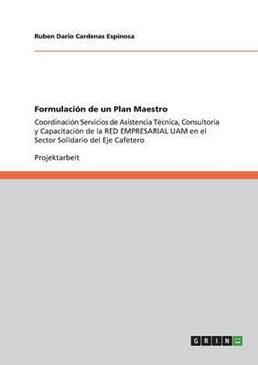 Formulacion de Un Plan Maestro (Paperback)