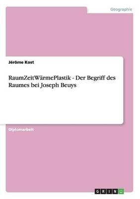 Raumzeitw rmeplastik - Der Begriff Des Raumes Bei Joseph Beuys (Paperback)