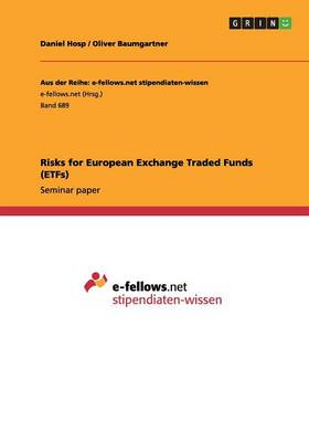 Risks for European Exchange Traded Funds (Etfs) (Paperback)