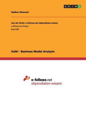Italki - Business Model Analysis (Paperback)