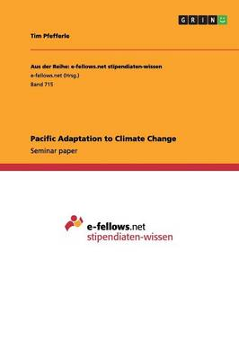 Pacific Adaptation to Climate Change (Paperback)
