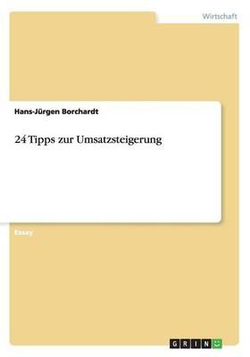 24 Tipps Zur Umsatzsteigerung (Paperback)