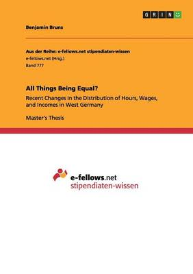 All Things Being Equal? (Paperback)