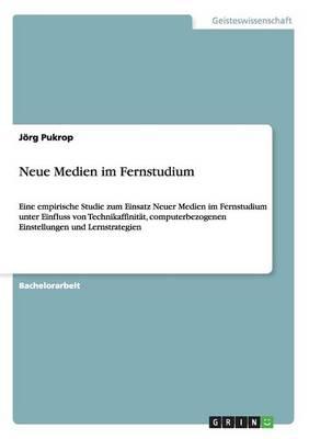 Neue Medien Im Fernstudium (Paperback)