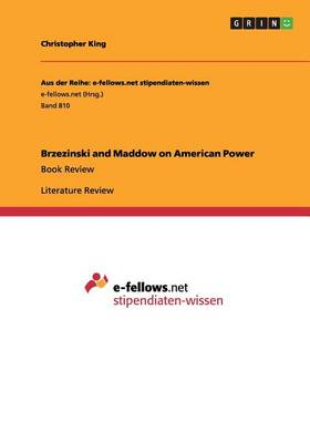 Brzezinski and Maddow on American Power (Paperback)