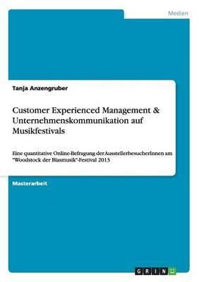 Customer Experienced Management & Unternehmenskommunikation Auf Musikfestivals (Paperback)