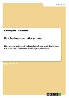 Beschaffungsmarktforschung (Paperback)