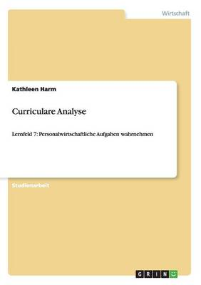 Curriculare Analyse (Paperback)