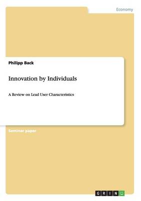 Innovation by Individuals (Paperback)