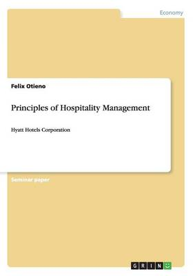 Principles of Hospitality Management (Paperback)