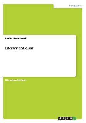 Literary Criticism (Paperback)
