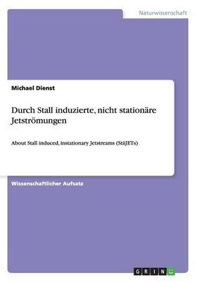Durch Stall induzierte, nicht stationare Jetstroemungen (Paperback)