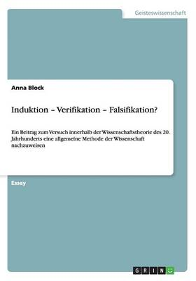 Induktion - Verifikation - Falsifikation? (Paperback)
