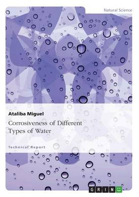 Corrosiveness of Different Types of Water (Paperback)
