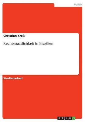 Rechtsstaatlichkeit in Brasilien (Paperback)