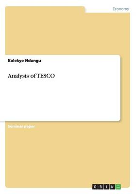 Analysis of Tesco (Paperback)