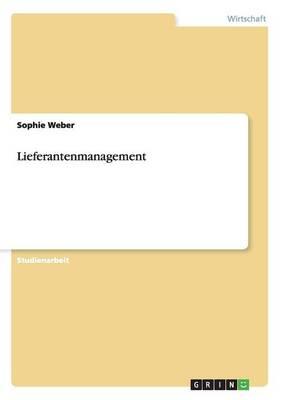 Lieferantenmanagement (Paperback)