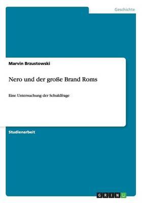 Nero Und Der Groe Brand ROMs (Paperback)