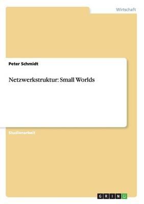 Netzwerkstruktur: Small Worlds (Paperback)