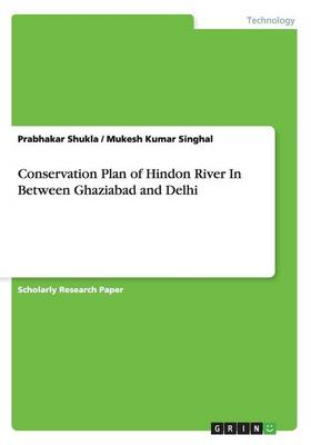Conservation Plan of Hindon River in Between Ghaziabad and Delhi (Paperback)