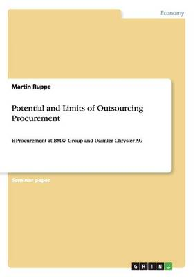 Potential and Limits of Outsourcing Procurement (Paperback)