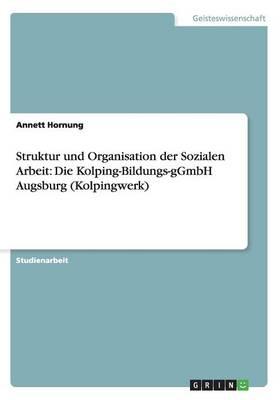 Struktur Und Organisation Der Sozialen Arbeit: Die Kolping-Bildungs-Ggmbh Augsburg (Kolpingwerk) (Paperback)