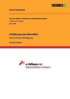Einf�hrung Des Microbilg (Paperback)