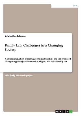 Family Law Challenges in a Changing Society (Paperback)