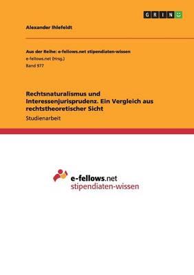 Rechtsnaturalismus Und Interessenjurisprudenz. Ein Vergleich Aus Rechtstheoretischer Sicht (Paperback)