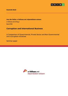 Corruption and International Business (Paperback)